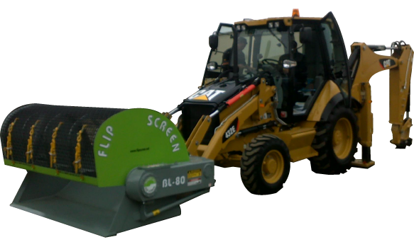 BL80 Backhoe Screening Bucket