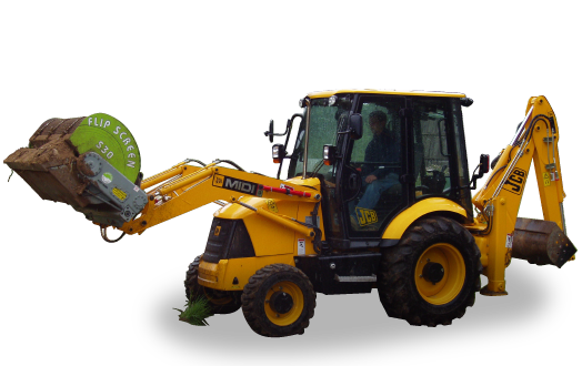 S30 Backhoe Screening Bucket