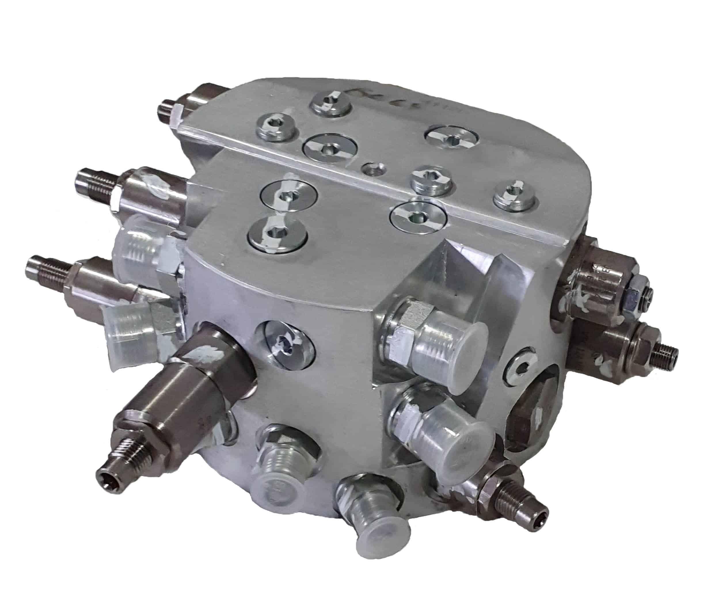 screening bucket valve