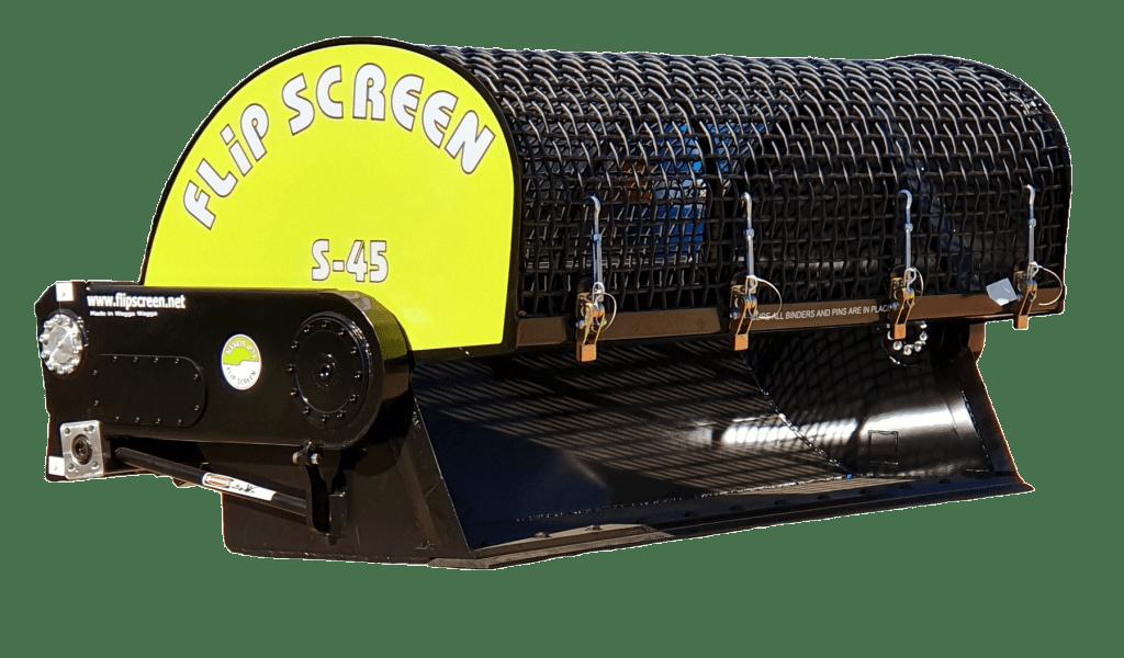 S45 skid steer bucket