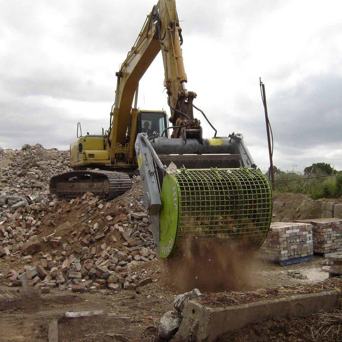 flipscreen construction screening